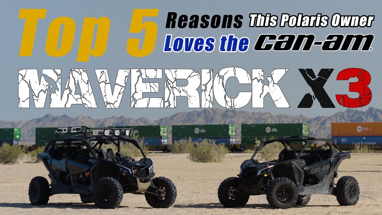 5 Reasons Why This Polaris Owner Loves the New Maverick X3 (Sponsored By Can-Am) - Dauer: 2 Minuten, 10 Sekunden