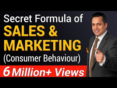 Secret Formula of Sales and Marketing  | Consumer Behaviour
