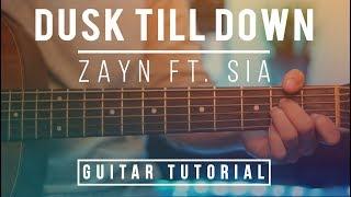 Video Dusk Till Dawn Guitar Tutorial - Zayn feat Sia Guitar Lesson  No Capo + Guitar Cover   Chords&Melody download MP3, 3GP, MP4, WEBM, AVI, FLV Juli 2018
