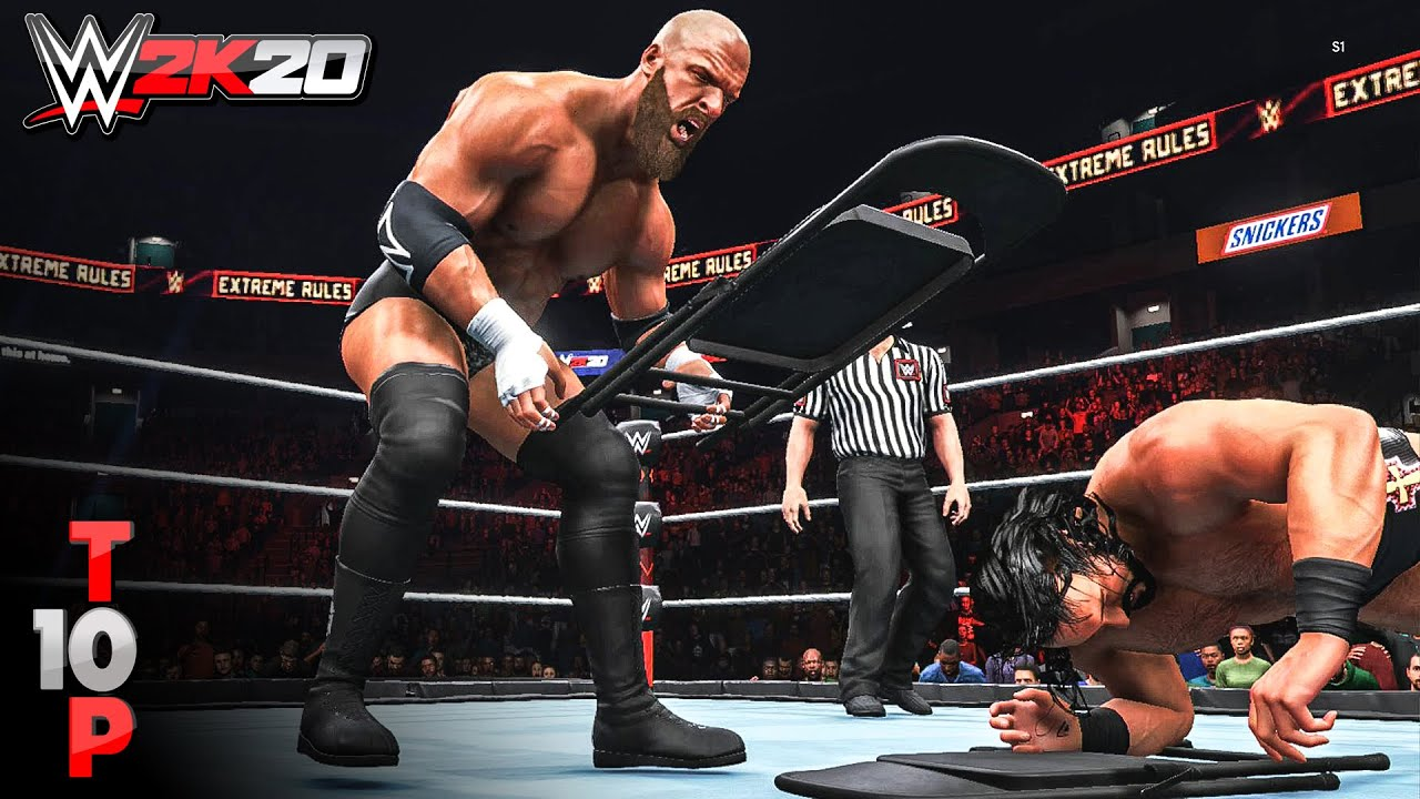 WWE 3K30 - Top 3 Chair Moments