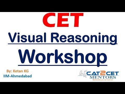 Visual Reasoning Workshop   Crack questions in 30 sec   Strategy, Tricks & Tips