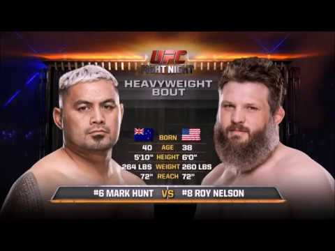 Mark Hunt Vs Roy Nelson - Highlight Video
