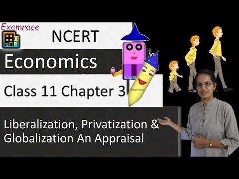 NCERT Class 11 Economics Chapter 3: Liberalization, Privatization and Globalization An Appraisal