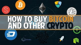 Crypto For Beginners By A Beginner (How to Buy Bitcoins, Exchange For Altcoins / Cryptocurrency)