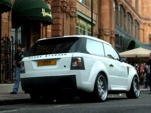 White Range Stormer by 'West Coast Customs'-Arab supercars in London 2011!
