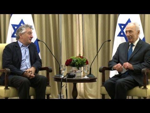 Robert De Niro meets Israeli president
