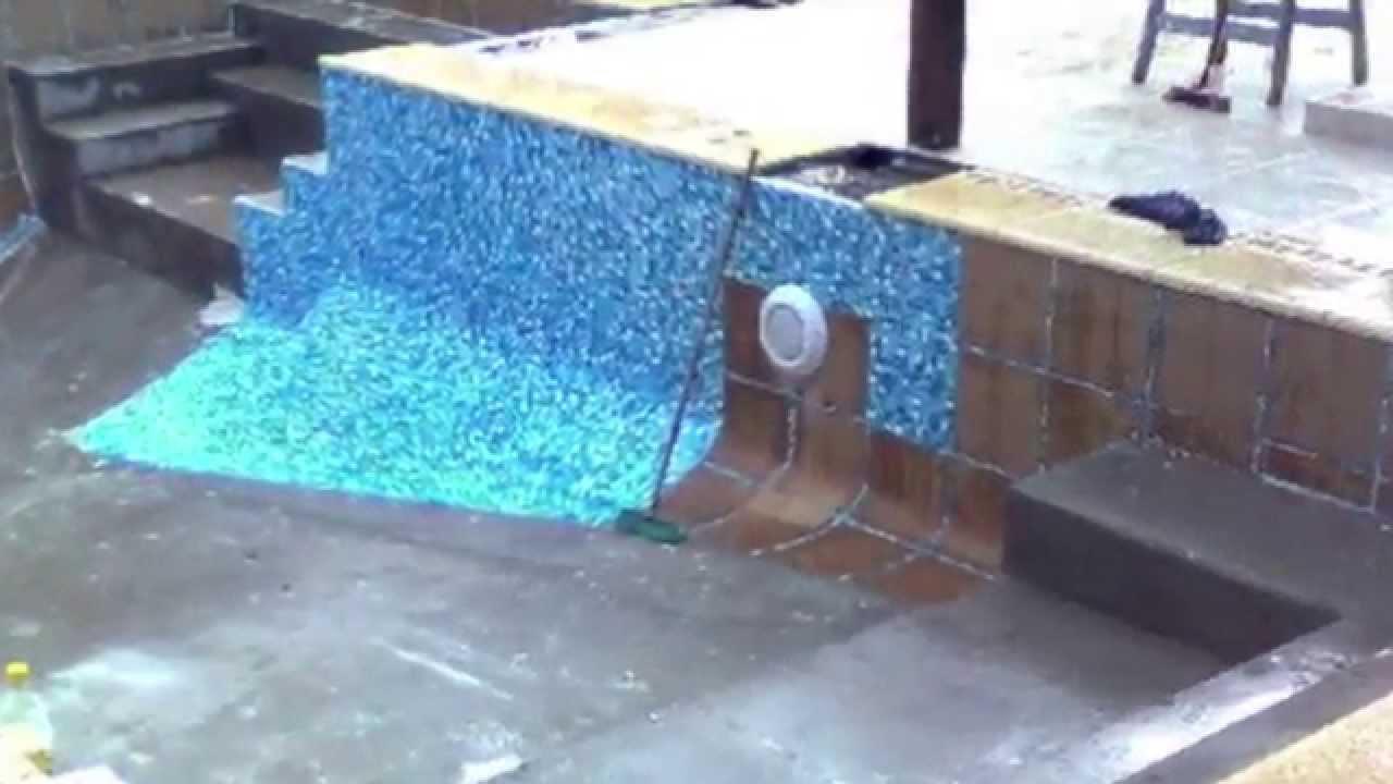 piscinas revestimiento mosaico youtube