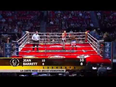 Dierry Jean vs Ryan Barrett