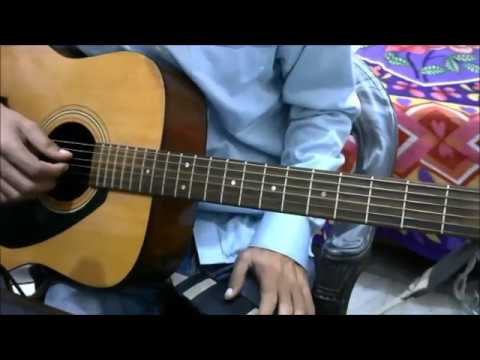 Fingerstyle Plucking Pattern For Hindi Songs - Just 1 Pattern for many songs Guitar BEGINNERS