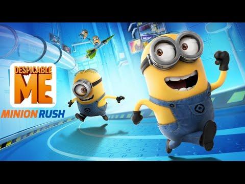 Minion Rush Despicable Me Full Gameplay Walkthrough