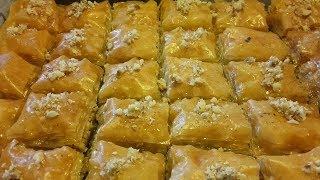 Baklava  reteta Super Crocanta si gustoasa -Sarailie Turkish baklava homemade -Reteta simpla si buna