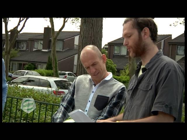 'Acteur' Robben voor commercial terug in Bedum, deel 1