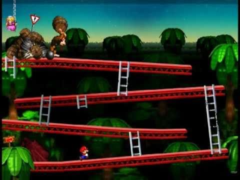 Classic Donkey Kong Reimagined