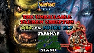 Grubby | Warcraft 3 The Frozen Throne | Orc vs. NE - The Unkillable TC - Terenas Stand