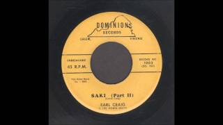 Earl Craig & The Downbeats - Saki Part 2 - Rockabilly Instrumental 45