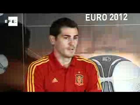 Casillas talks Euro 2012, Puyol injury at Adidas football presentation.