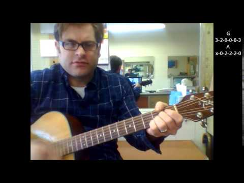 How To Play Your Love By The Outfield On Acoustic Guitar Youtube