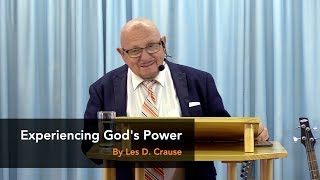 Experiencing God's Power - GBM Television