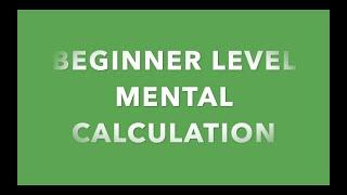 Beginner Mental Dictation