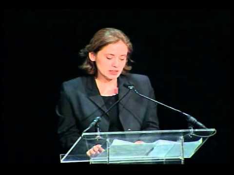2004 Goldman Environment Prize Ceremony: acceptance speech Manana Kochladze