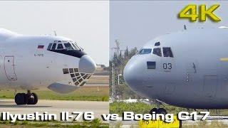 Boeing C17 vs Ilyushin Il 76