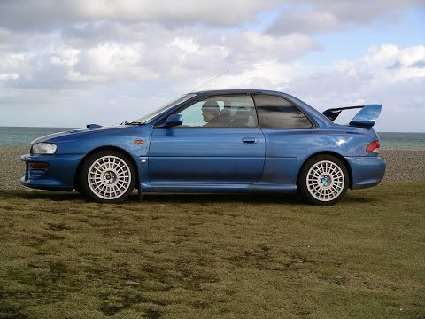 SUBARU 22B In Car TRACKDAY Action - JDM - Limited Edition 126/400