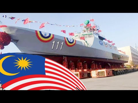 Malaysia Receives Large Patrol Boat Made in China ✔️