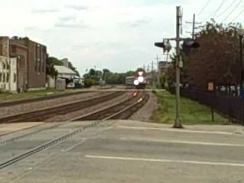 Metra UNION PACIFIC West line Wheaton