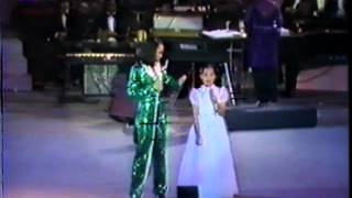 KUH LEDESMA and 9 year old LEA SALONGA