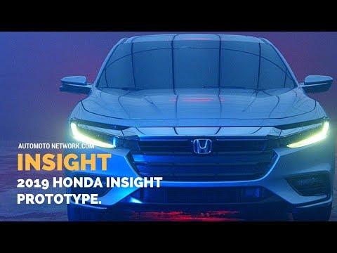 2019 Honda Insight Prototype Preview.