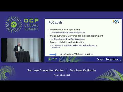 OCPSummit19 - EW: Networking: Hardware - Real Examples Of Telecom Services Built Using White Boxes