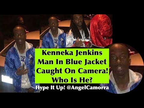 KENNEKA JENKINS CAUGHT ON CAMERA WITH A MAN WEARING A BLUE JACKET! WHO IS HE???