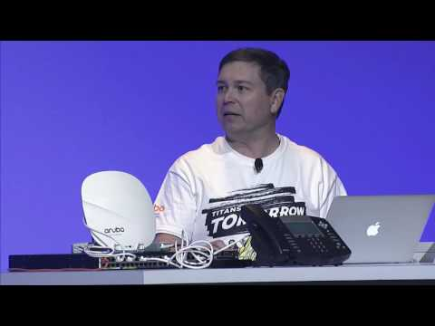 [ATM16 Demo] Connect and Protect Building IoT with Aruba ClearPass
