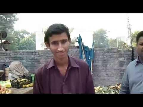 Sialkot City (Pakistan) | Sunday Fruit Market
