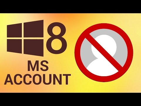 How To Remove Microsoft Account From Windows 8