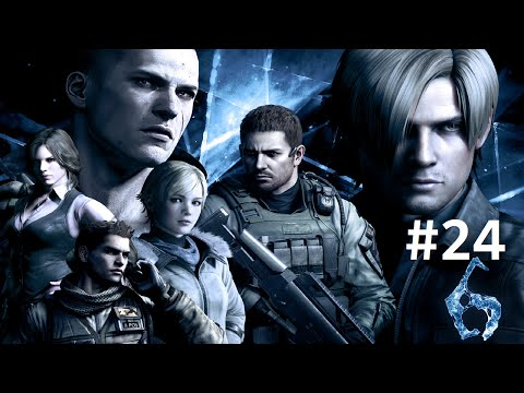 Resident Evil 6 (Co-op) #24: The State Farm Ninja Ginger And Berri
