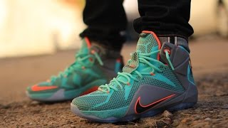 nsrl lebron 12 on feet
