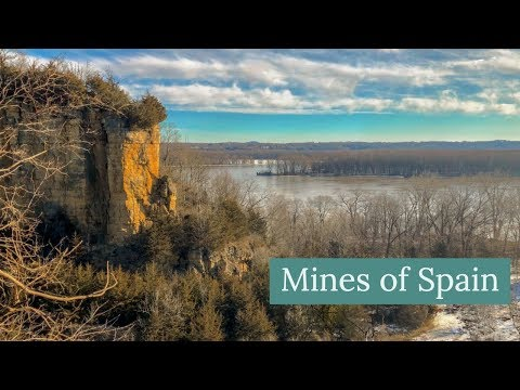 Sunrise Hike, Horseshoe Bluff Trail At Mines Of Spain, Dubuque Iowa 2019 4K