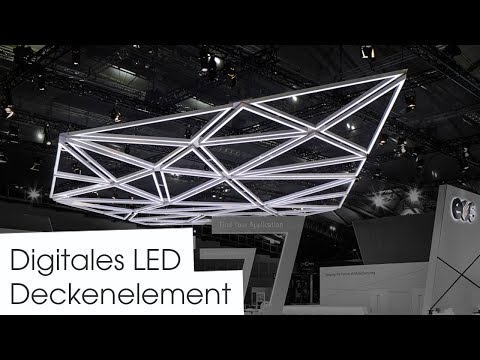 Digitales LED RGBW Deckenelement