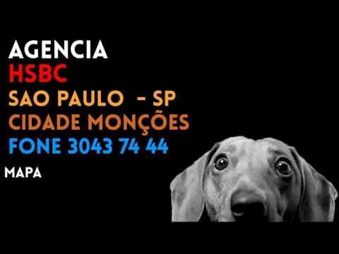 ✔ Agência HSBC em SAO PAULO/SP CIDADE MONÇÕES - Contato e endereço