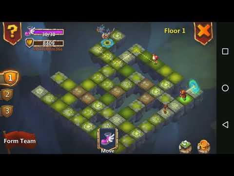 Castle Clash : Labyrinth FLOOR 1