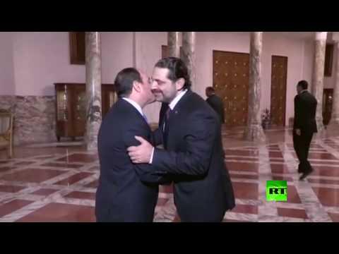 لحظة لقاء الحريري والسيسي في القاهرة  - نشر قبل 8 ساعة