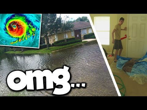 AFTERMATH OF HURRICANE IRMA AT OUR HOUSE... (we got hit hard)