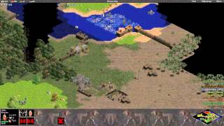 Age of Empires Rise of Rome 3v3 Continental