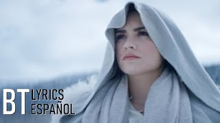 Demi Lovato - Stone Cold (Lyrics + Español) Video Official