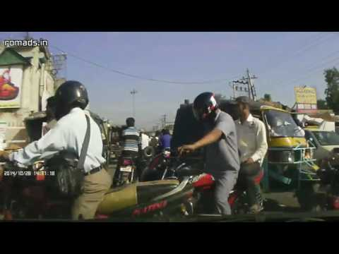 Drive Through Pathankot City, Punjab (2014-10-28)