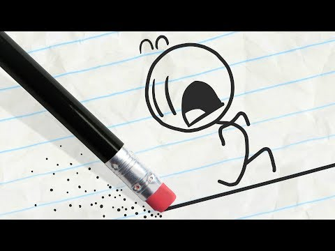 Pencilmate's Running in Circles! -in- A-MAZE-ING PENCILMATION COMPILATION - Cartoons for Kids