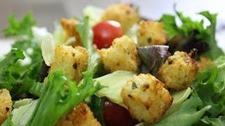 Parmesan Herb Croutons recipe