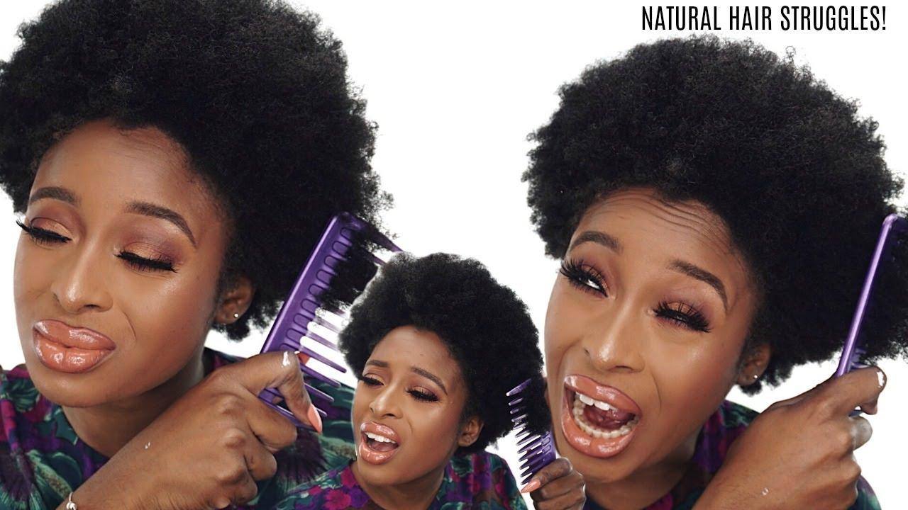 natural hair hard coarse