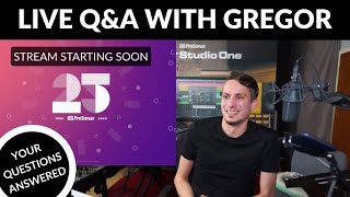 Live Stream Q&A with Gregor – 4/20/20